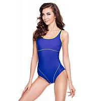 Женский цельный купальник Aqua Speed Cora 34 Сине-желтый aqs061, КОД: 961615