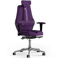 Кресло KULIK SYSTEM NANO Антара с подголовником со строчкой Фиолетовый 16-901-WS-MC-0306, КОД: 1668819