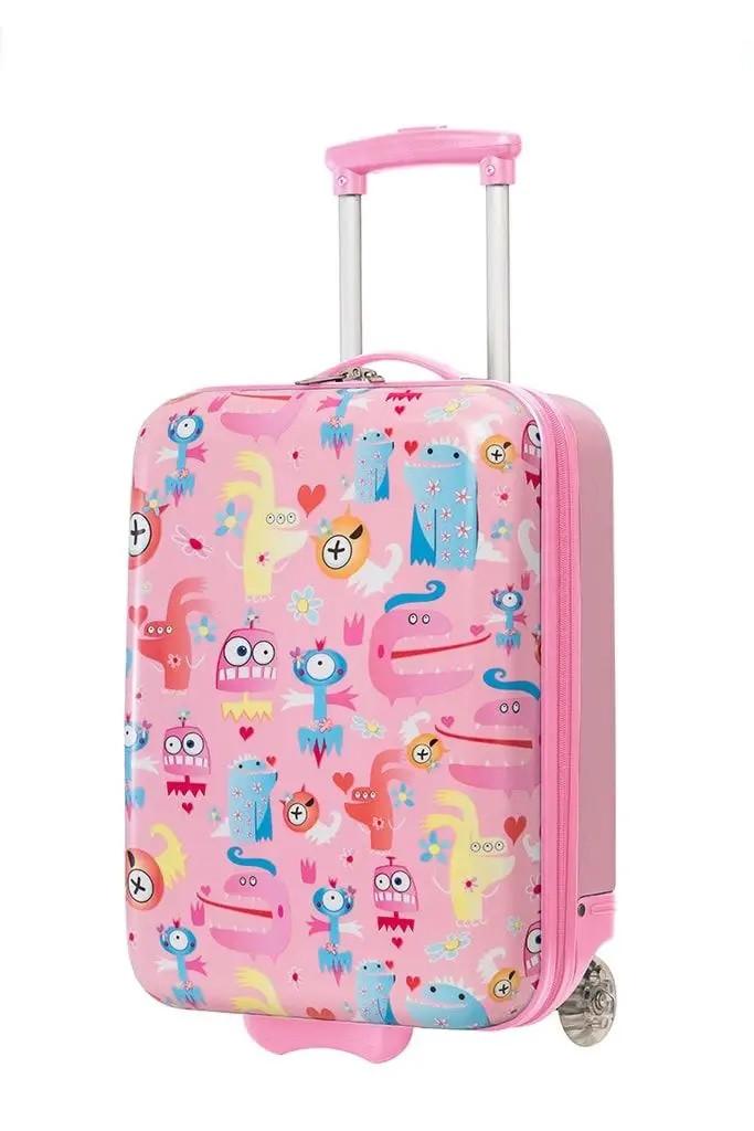 Дорожный чемодан для детей на 2-х колесах MADISSON A85118 монстры