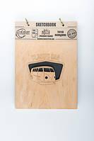 Скетчбук Drevych Classic Car А5 40 листов 0156123, КОД: 2447731