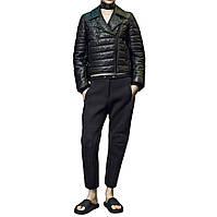 Кожаная утепленная куртка Alexander Wang 42 Черный 5054605-EUR-42, КОД: 2316140