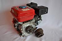 Двигатель бензиновый Bizon DDE 170FB 7.5 л.с вал 20 мм под шпонку 4, КОД: 1538864