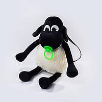 Рюкзак детский Weber Toys Барашек Тимми 40см Черно-белый 515-1, КОД: 1463381
