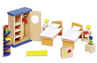 Набор для кукол Goki Мебель для спальни 51745G, КОД: 2427101