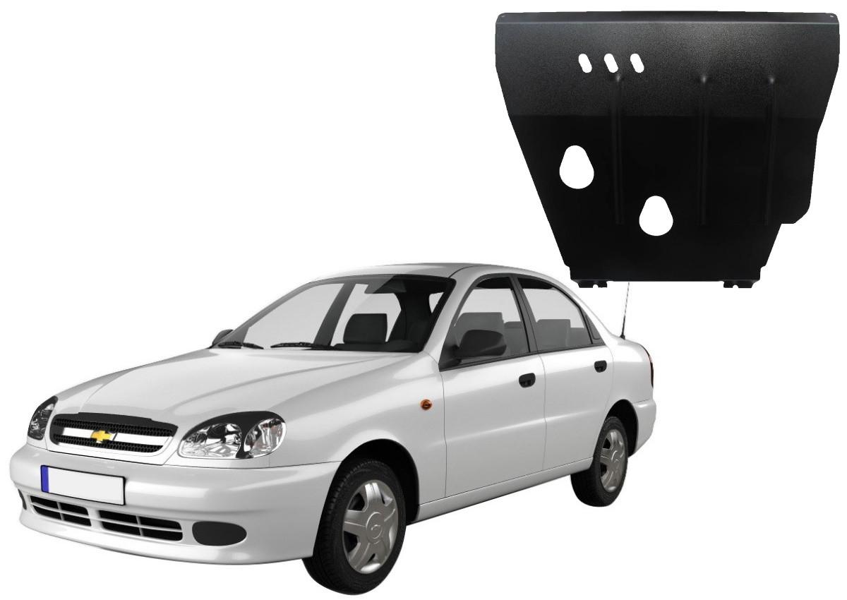 Защита двигателя Chevrolet Lanos 2005-2009