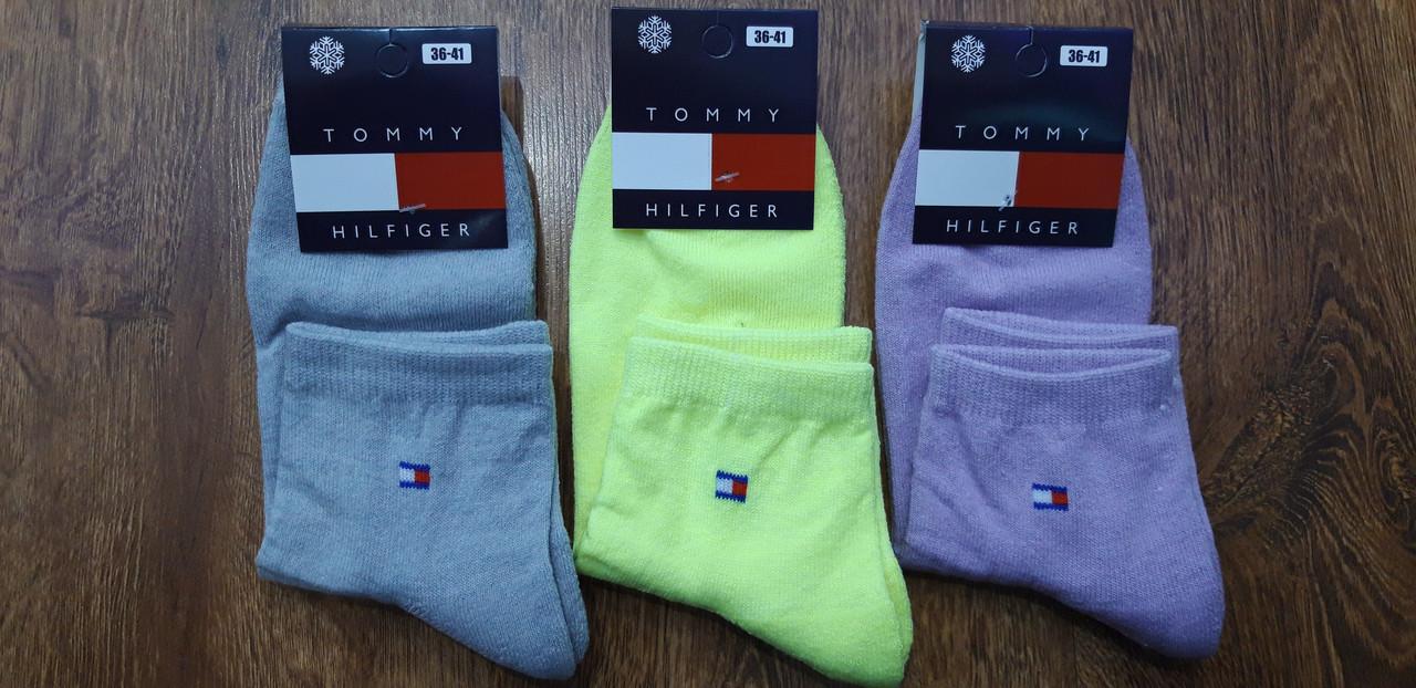 """Шкарпетки жіночі з махрової стопою, в стилі """"Tommy A"""" Туреччина 36-41 Середні"""