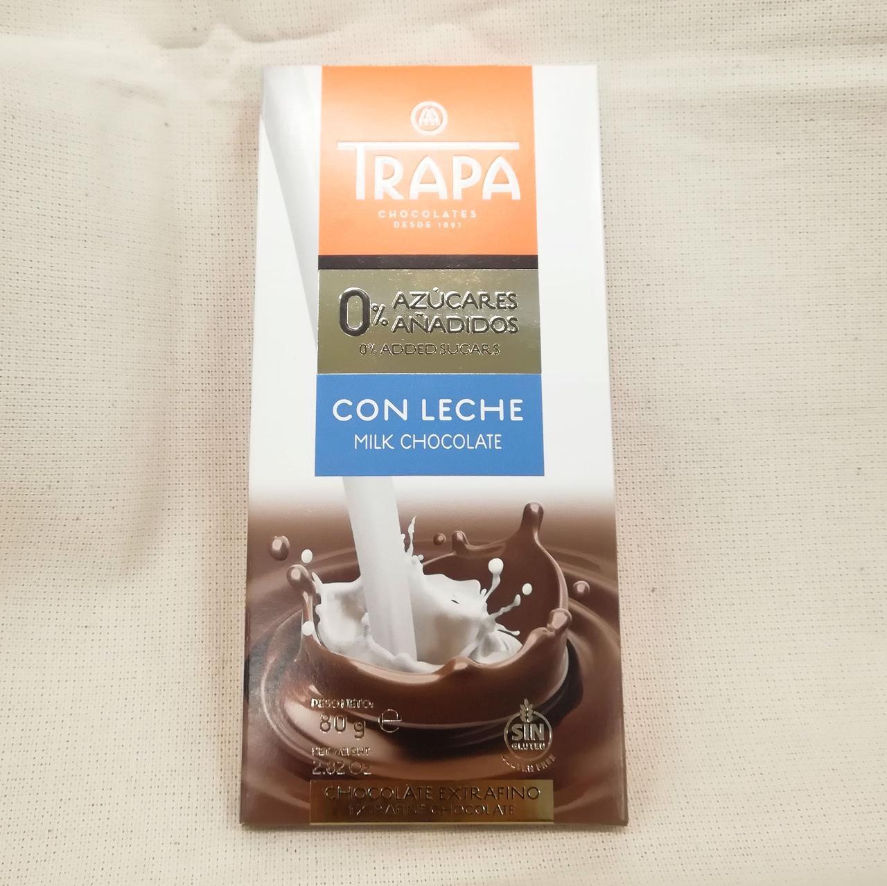 Trapa Milk Chokolate Sugarfree