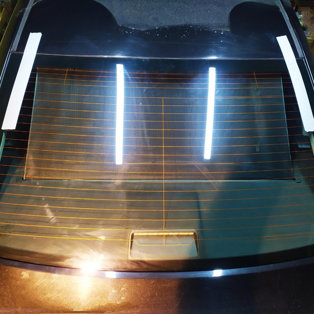 Заднее стекло для Toyota (Тойота) Avensis (09-)