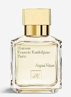 Оригинал Maison Francis Kurkdjian Aqua Vitae 70ml edt Нишевая Туалетная Вода Мейсон Франсис Куркджан Аква Вита