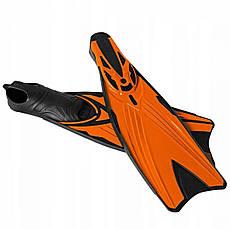 Ласты SportVida SV-DN0006-XL Size 44-45 Black/Orange, фото 3