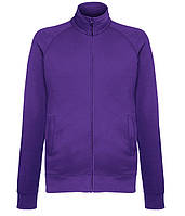 Толстовка Fruit of the Loom Lightweight sweat jacket M Фиолетовый 0621600PEM, КОД: 1574550