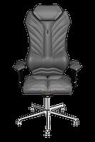 Эргономичное кресло KULIK SYSTEM MONARCH Серое 204, КОД: 1335587