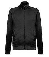 Толстовка Fruit of the Loom Lightweight sweat jacket M Черный 062160036M, КОД: 1574542