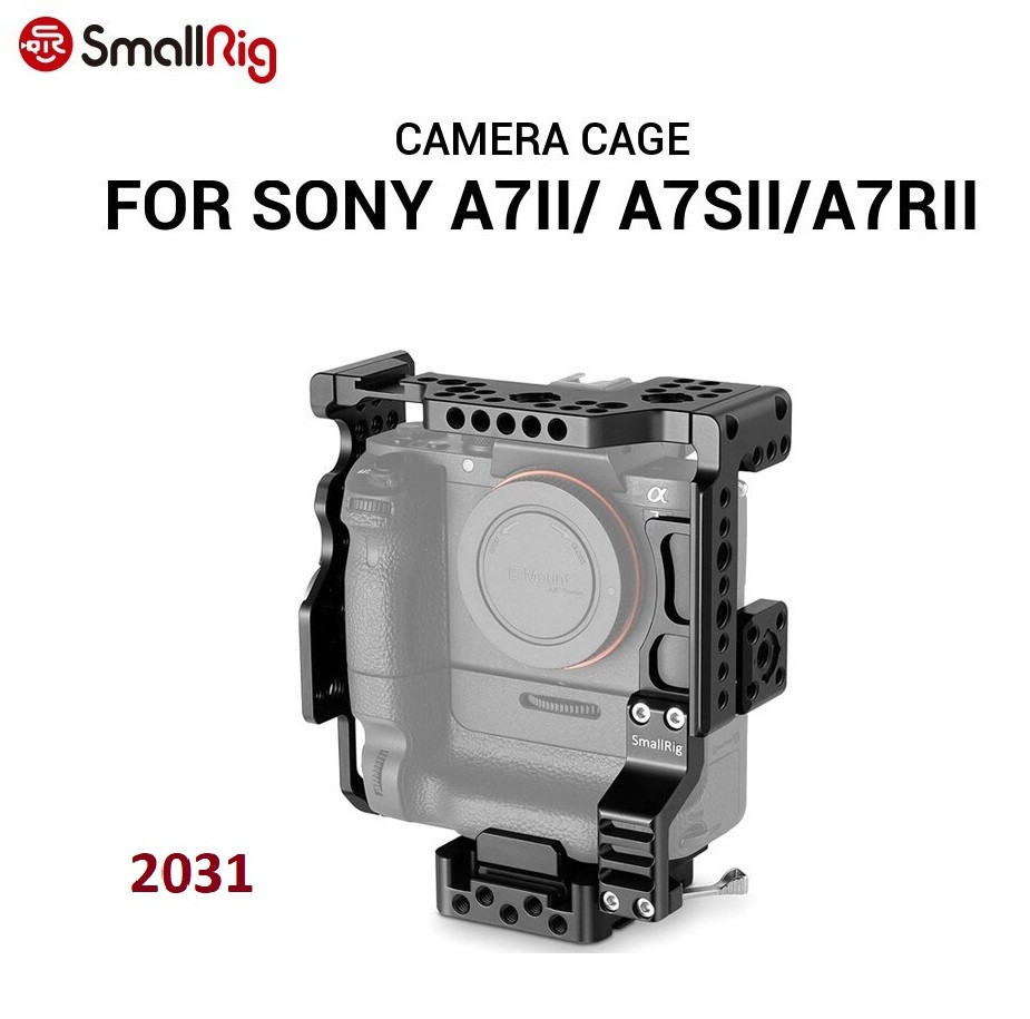 Кейдж SmallRig Camera Cage for Sony A7II A7SII A7RII with Battery Grip (2031)