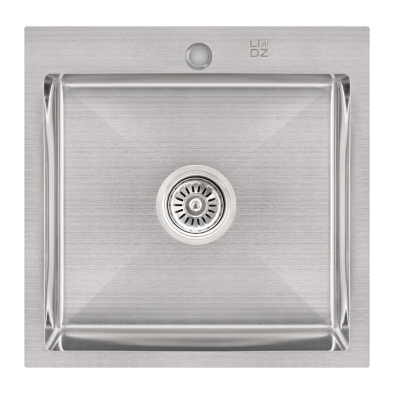 Кухонная мойка Lidz H5050 Brush 3.0/1.0 мм (LIDZH5050BRU3010)