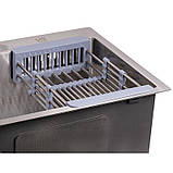 Кухонная мойка Lidz H5050 Brush 3.0/1.0 мм (LIDZH5050BRU3010), фото 6
