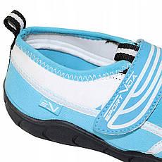Обувь для пляжа и кораллов (аквашузы) SportVida SV-DN0009-R34 Size 34 Blue/White, фото 2