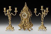 Набор Virtus Часы настольные D.Fernando + пара канделябров D.J. на 4 свечи 5160 - 4052SET, КОД: 303129