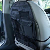 Органайзер на спинку сидения от загрязнения  Elegant  100 700 ( черный/ткань Oxford 600D/60*41см)