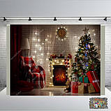 Банер 2х2, новорічний. Печать баннера  Фотозона Замовити банер З Днем народже, фото 10