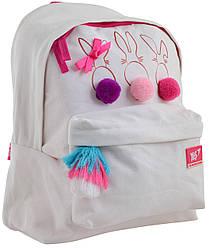 Рюкзак молодіжний YES ST-30 Funny Bunnies 15.5 л Білий 556754, КОД: 1252142