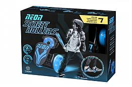 Універсальні ролики Neon Street Rollers Blue N100735, КОД: 2432539