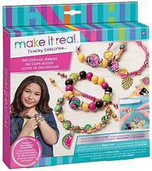 Набор Make it Real для создания волшебных браслетов Декупаж MR1304, КОД: 2444824