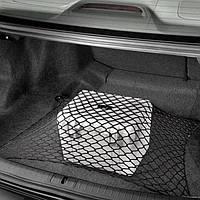 Сетка в багажник напольная 80х60см одинарная (фиксация багажа) Elegant 100674