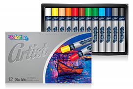 Пастель масляная Colorino Artist 12 цветов 65702PTR, КОД: 2447050