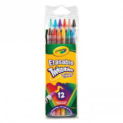 12 цветных карандашей вертушка Crayola 68-7508, КОД: 2447014