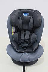 Детское автомобильное кресло LINDO Серый HB 636, КОД: 1552992