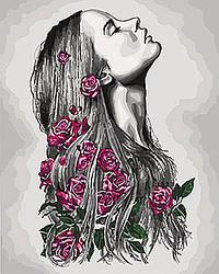 Картина по номерам Идейка Расцветаю 40х50 см KHO4576, КОД: 1318591