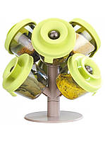 Набор для специй и трав HMD Дерево Зеленый 212-87283, КОД: 1558798