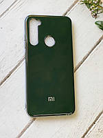 Силиконовый глянцевый чехол Creative для Xiaomi Redmi Note 8 Зеленый 14072, КОД: 1897879