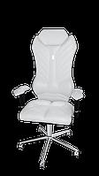 Эргономичное кресло KULIK SYSTEM MONARCH Белое 205, КОД: 1335616