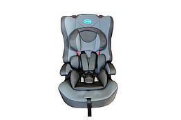 Детское автомобильное кресло 2 в 1 ТМ LINDO Серый HB 616 HB 616 сірий, КОД: 1717716