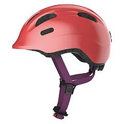 Велосипедний дитячий шолом ABUS SMILEY 2.1 S 45-50 Sparkling Peach 869457, КОД: 1792577