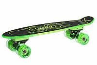 Скейтборд Neon Hype Green N100789, КОД: 2432557