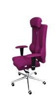 Эргономичное кресло KULIK SYSTEM ELEGANCE Розовое 1007, КОД: 1335585