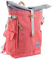 Рюкзак міський Smart Roll-top T-69 Peach 20 л Фіолетовий 557508, КОД: 1252079