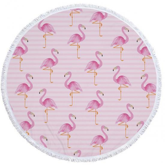Пляжный коврик Tender Flamingo Разноцветный (kj123287)
