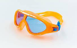 Очки-полумаска для плавания детские planeta-sport SPEEDO BIOFUSE RIFT JUNIOR 8012138434 Оранжевый, КОД: