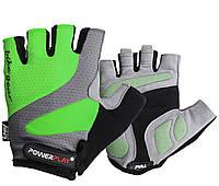 Велорукавички PowerPlay 5004 C L Зелені 5004CLGreen, КОД: 1138845