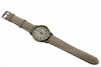 Наручные часы джинсовые VOLRO Бежевый vol-443, КОД: 1584393