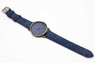 Часы джинсовые наручные 2Life Синий n-450, КОД: 1623994