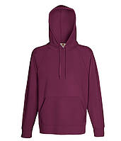 Худи Fruit of the Loom Lightweight hooded sweat S Бордовый 062140041S, КОД: 1554377