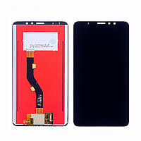 Дисплей для Meizu M8 Note M822 с сенсором Черный DH0738, КОД: 1348389