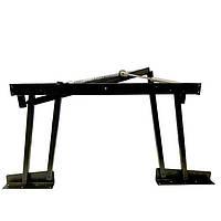 Механизм трансформации стола с пружиной и газовым подъемником