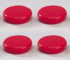 Магниты Dahle 32 мм 4 штуки Красный 4007885934327, КОД: 1837915