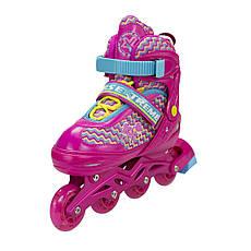 Роликовые коньки Nils Extreme NJ4613A Size 38-41 Pink, фото 3